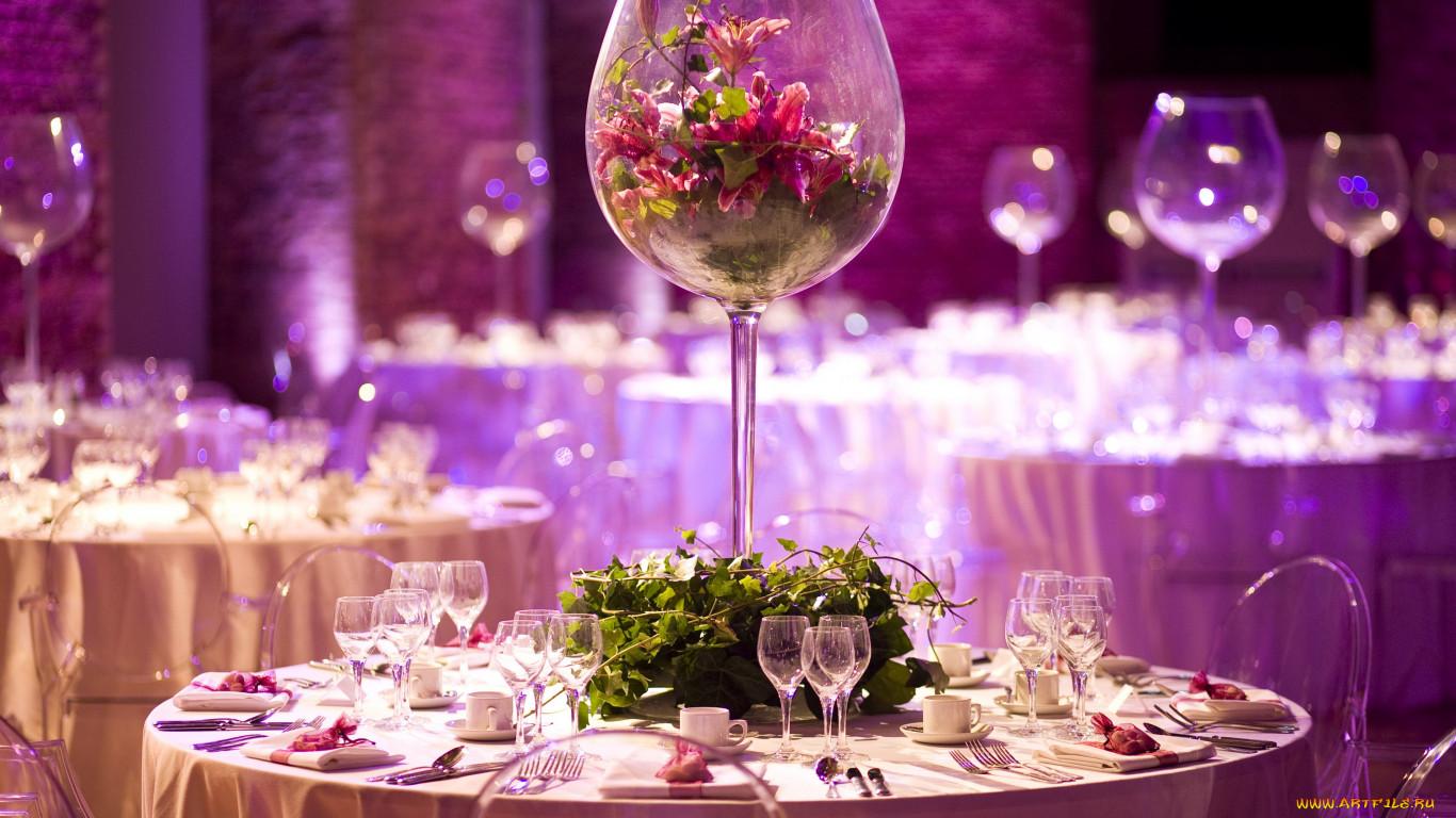 Оформление свадебных столов своими руками